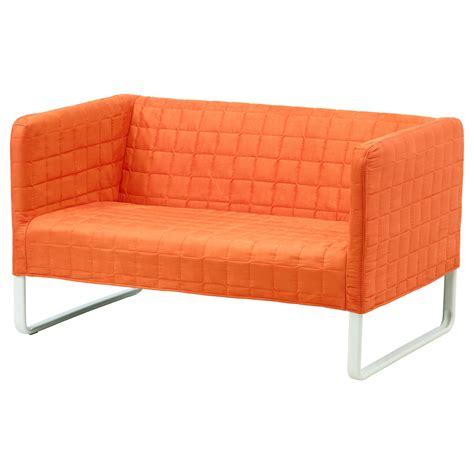 housse canap ikea knopparp 2 seat sofa orange ikea