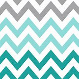 Teal And White Chevron Wall | 600 x 600 jpeg 92kB