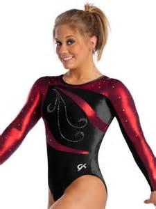 Shawn Johnson Gymnastics Leotards Red