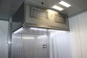 Laminar Flow Cabins For Weighing And Sampling
