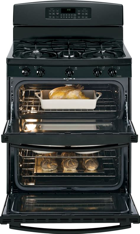 jgbdefbb ge   standing gas double oven range