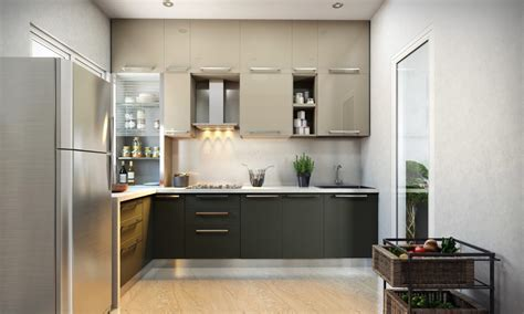 Buy Beatrix Compact L shape Kitchen online in India