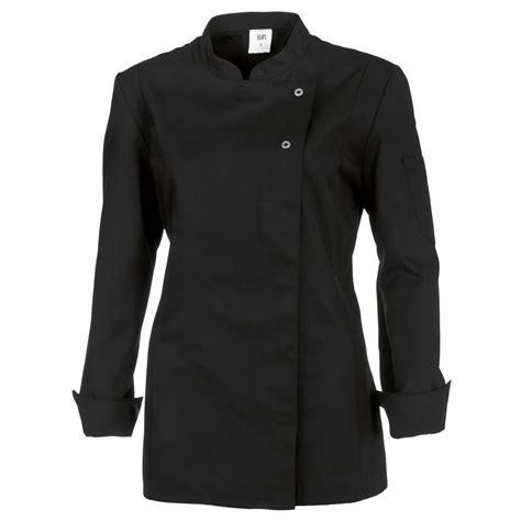 veste cuisine femme veste de cuisine femme manches longues peut bouillir noir