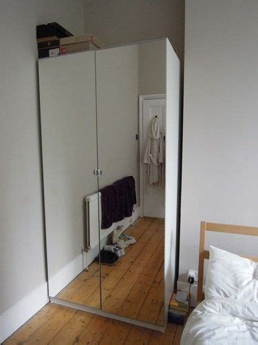 Ikea Armoire With Mirror by Ikea Pax Mirrored Front Wardrobe My Architextural