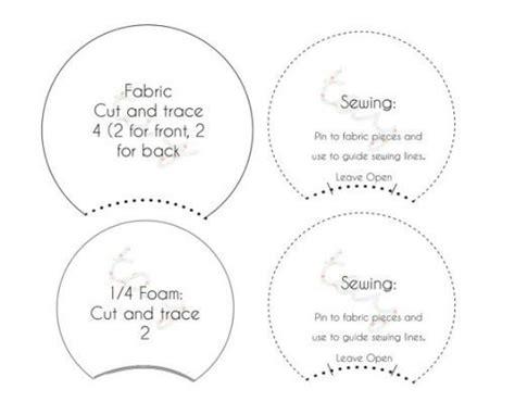 printable pattern template  diy disney ears diy