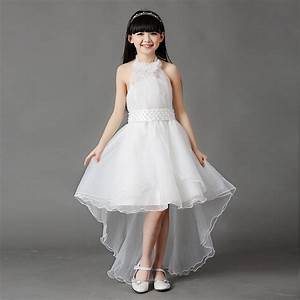 3 16y kids gauze pearl tee dresses for teenage girls for Teenage dresses for weddings