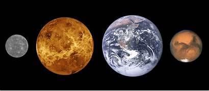 Mercury Venus Mars Earth Astrophotography Domain