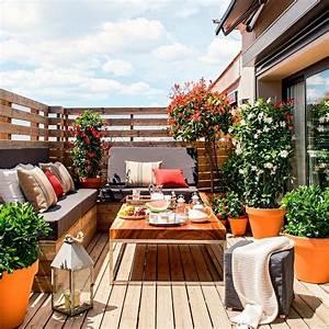 Arredare Il Terrazzo Moderno Con Decorazioni  Piante E