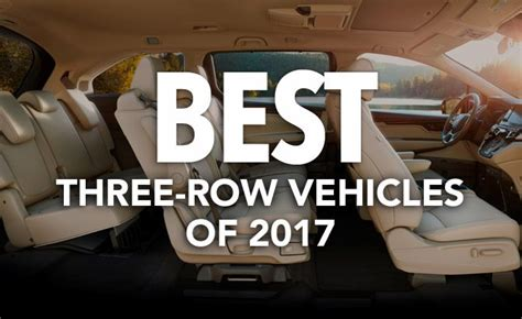 In Vehicles 2017 by Best Three Row Vehicles Of 2017 Consumer Reports