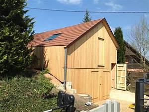 Hangar En Kit Bois : hangar de rangement en bois abt construction bois ~ Premium-room.com Idées de Décoration