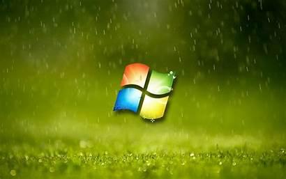 Windows Wallpapers Microsoft Rain Laptop Desktop Pc