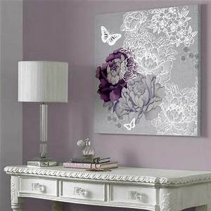 17 best ideas about brown walls on pinterest brown With best brand of paint for kitchen cabinets with purple floral canvas wall art