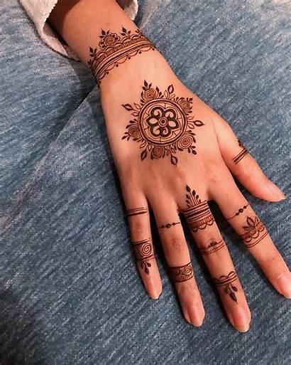 Henna Tattoo Tattoos Permanent Mandala Colorpaints Mehndi