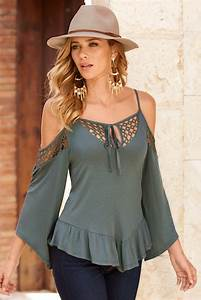 Sexy Cold Shoulder Fashion Tops – Designers Outfits Collection