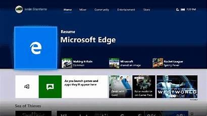 Xbox Update Edge April Rolling Users Microsoft