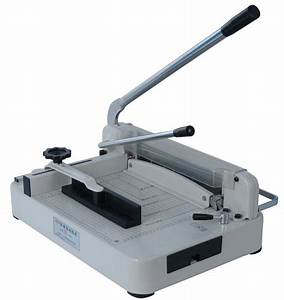 Qz868 Paper Cutter A3 Size Heavy Duty Manual Guillotine