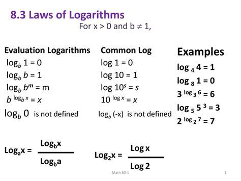 Log 3 A