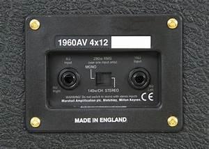 Marshall 1960av Elektro Gitar Kabini