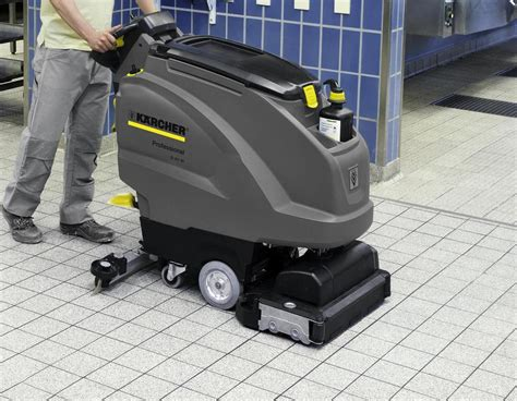 tile floor scrubbers machines cleaning matters improve the standard of washroom floor