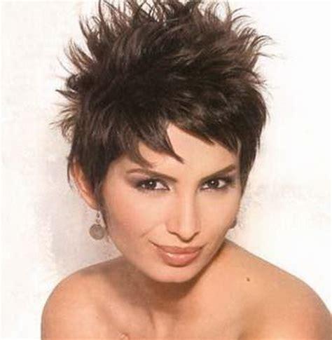 short spikey hairstyles  women