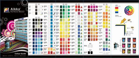 car paint color chart malaysia paint color ideas