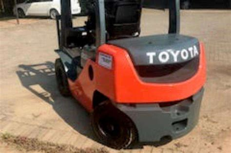 toyota toyota forklift forklifts machinery  sale