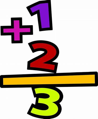 Math Addition Clipart Clip Transparent Subtraction Mathematics