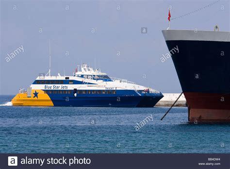 Greece Catamaran Ferry by Europe Greece Mykonos Blue Star Jets Catamaran Ferry