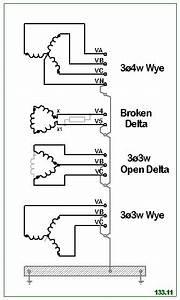 Open Delta Pt Vs Wye Pt - Electric Power  U0026 Transmission  U0026 Distribution