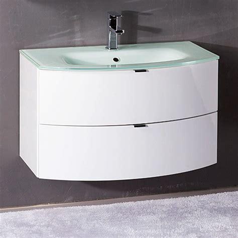 Badezimmer Unterschränke Bauhaus by Salsa Tao Waschtisch Breite 80 Cm Glas Wei 223 Klar