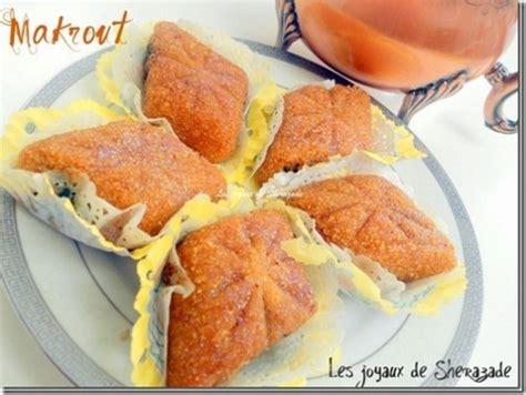 cuisine marocaine makrout aux dattes makrout les joyaux de sherazade