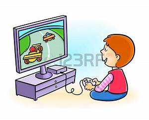 Playing Games On Computer Clipart - ClipartXtras