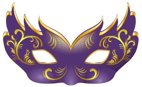 Mask Clip Masks Clipart Purple Pencil And In Color Masks Clipart