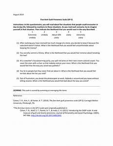 (PDF) Five-Item Guilt Proneness Scale (GP-5)