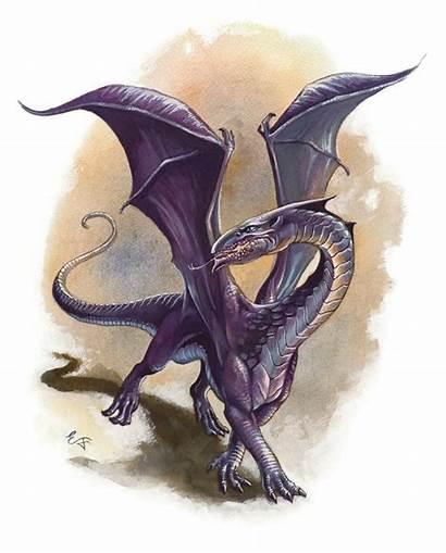 Dragons Purple Dragon Dungeons Chromatic Wyrmling Wikia
