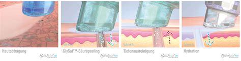 kosmetikbehandlung mit hydrafacial