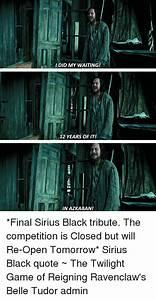 25+ Best Memes ... Sirius Azkaban Quotes