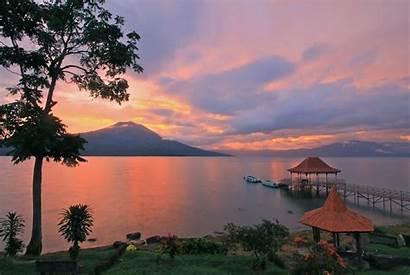 Sumatra South Indonesia Ranau Lake Villa Tourism