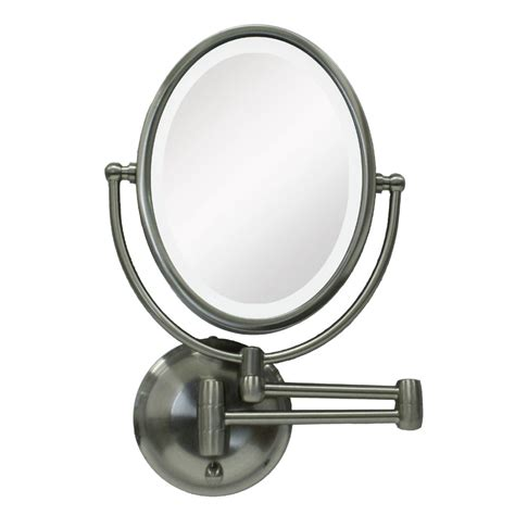 Lighted Bathroom Mirror Wall Mount by Wall Mount Lighted Makeup Mirror How To Buy Best The