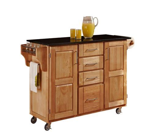 chariot cuisine create a cart grand chariot de cuisine quot create quot naturel dessus granite noir home depot canada