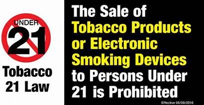Tobacco Age Under Smoking Purchases Raising Gov