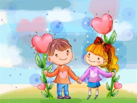 wallpaper kartun cinta romantis terbaru bangiz