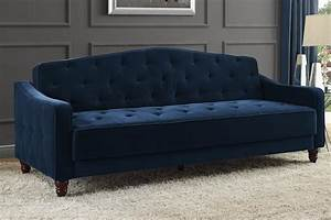 sofa sleeper bed vintage tufted convertible velour With tufted pull out sofa bed