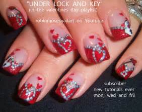 How to paint hearts easy heart nail nails raggedy