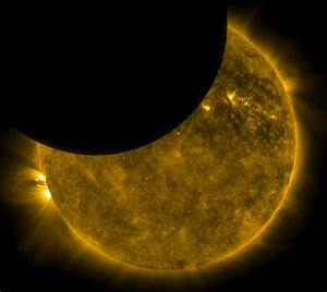 REAL Images of Eclipses Seen From Space - Universe Today