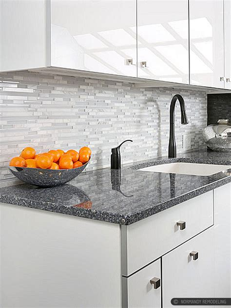 white kitchen with glass tile backsplash modern white marble glass kitchen backsplash tile 2104