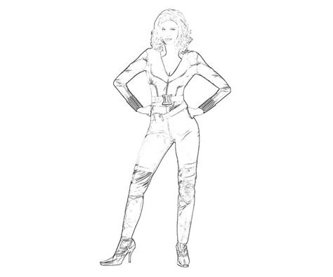 Black Widow Drawing At Getdrawingscom Free For Personal