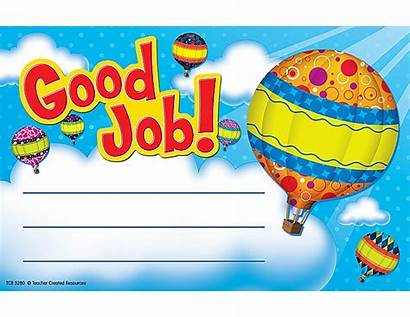 Job Balloons Award Awards Air Balloon Certificates
