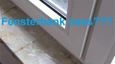 Wasser An Fenster fenster undicht wasser sie haben vielleicht vor kurzem