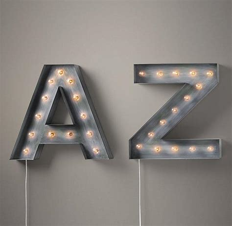 vintage marquee letters vintage illuminated gray marquee letters